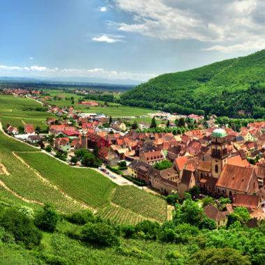 The Alsace Wine Region