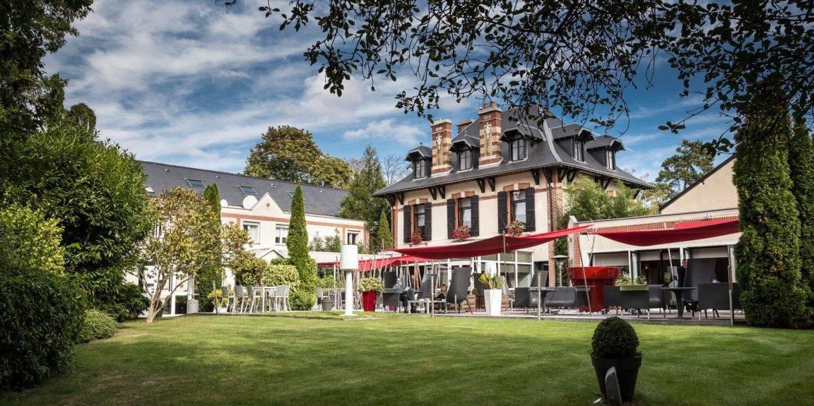 Assiette hotel Champagne Reims