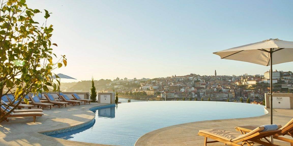 Infinity Pool - Outdoor The Yeatman Hotel Porto Portugal