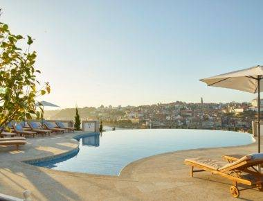 Infinity Pool - Outdoor The Yeatman Hotel Porto Portugal