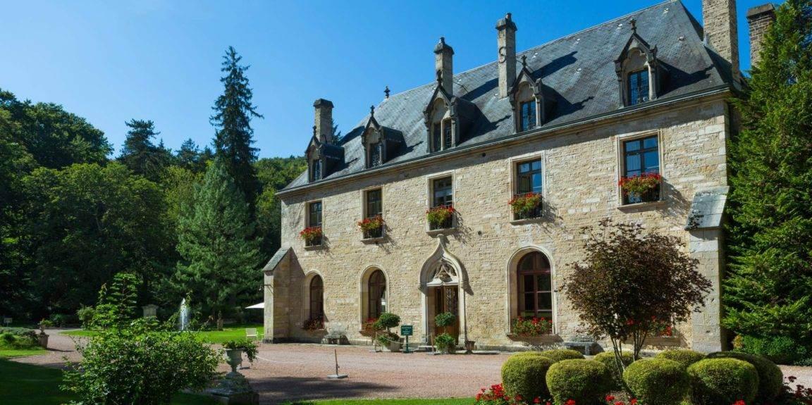Abbaye de la Bussiere in Burgundy