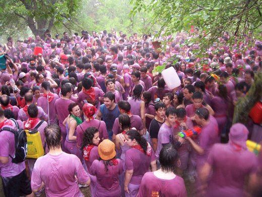 Batalla del Vino Haro in La Rioja