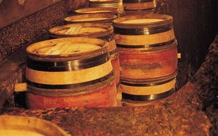 Burgundian Wine barrels